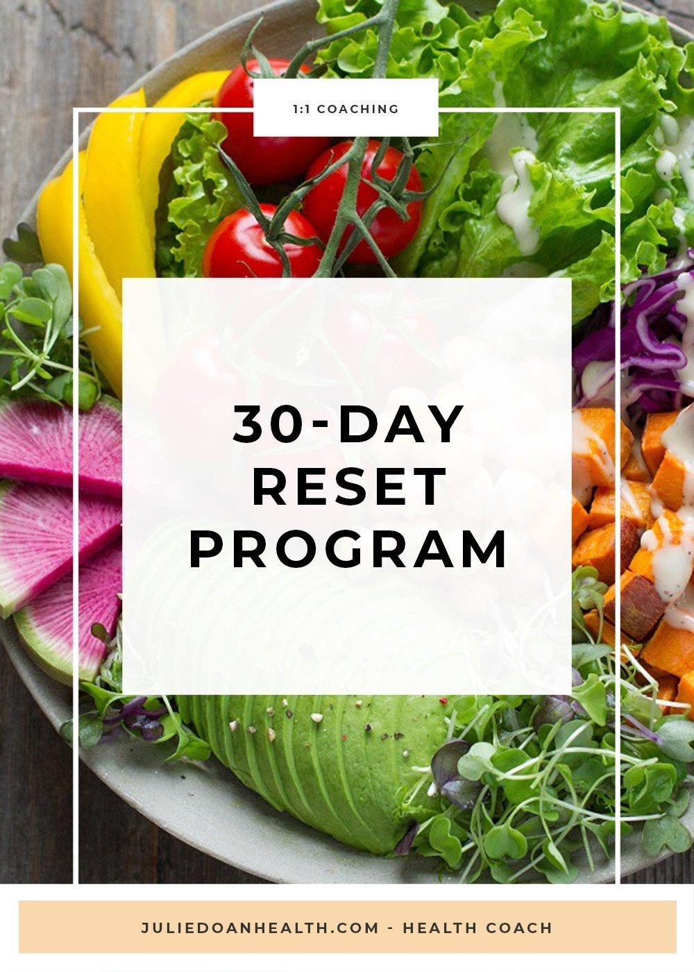 30 day reset